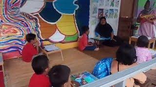 Kelompok Belajar Kampung Pelangi, Tempat Belajar yang Bersahaja
