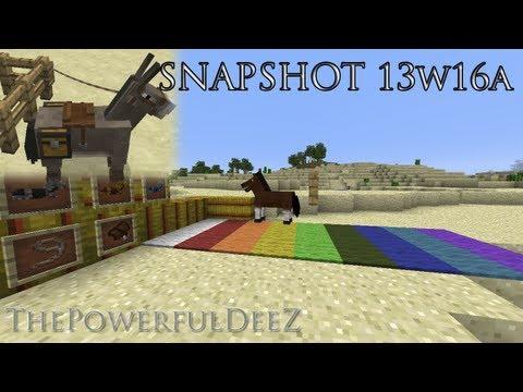 Minecraft 1.6 (13w16a) - Обзор. ThePowerfulDeeZ