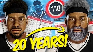 What If A 110 OVERALL Player Played 20 YEARS In The NBA?! - NBA 2K17 CHALLENGE (MyLeague)