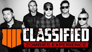 "NEW! (AVENGED SEVENFOLD) SONG FOR ""CLASSIFIED"" MAP BO4 ZOMBIES"