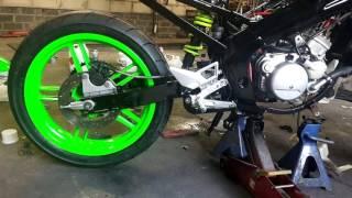 Yamaha TZR 50/70 Project Black & Green