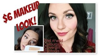$6.00 makeup tutorial!