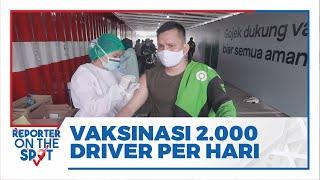Gojek Indonesia Akan Lakukan Vaksinasi Terhadap 2000 Mitra Driver Perhari