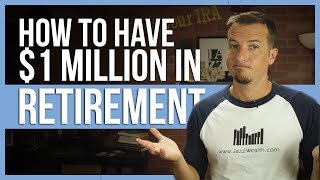 ❓ How to have $1 million in retirement. | FinTips