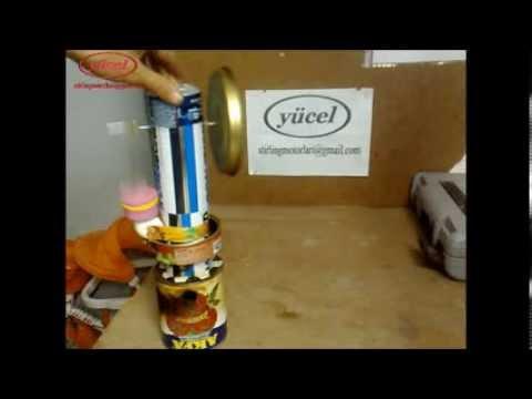 ev yapımı stirling motoru (home made Stirling Engine) 50