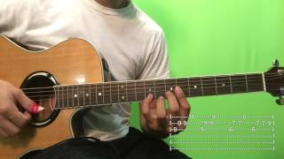 Yo Quisiera Amarla - Aventura Tutorial/Como tocar en Guitarra