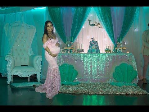 Zena's Mermaid Baby Shower | Best Baby Shower Game