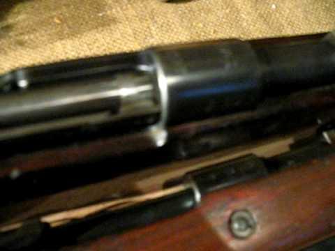 German K98 bcd 4 WWII Rifle - смотреть онлайн на Hah Life