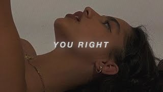 you right - doja cat, the weekend (slowed) + reverb