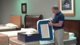 Richmond, Roanoke, Raleigh Latex Chemical Free Mattress Video