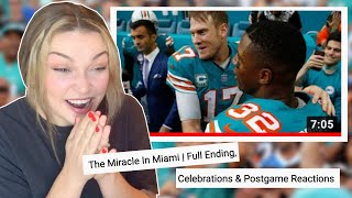 New Zealand Girl Reacts to THE MIRACLE IN MIAMI 🤯👀