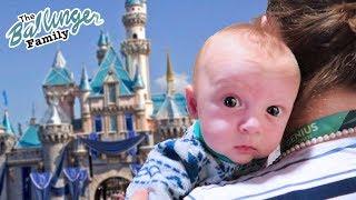 Baby's First Trip to Disneyland!