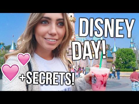 Disney Vlog!! LEARNING DISNEYLAND SECRETS!
