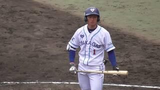 2018阪神タイガースドラフト1位2018/04/17大阪ガス・近本光司#1東浦中→社高→関西学院大