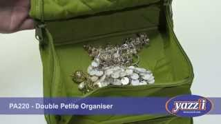 CA220 – The Double Petite Organiser or PA220 Double Petite Jewel/Makeup Organiser