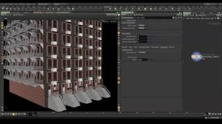 Houdini : Making Building construction, folding animation  - Самые
