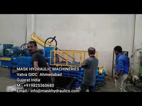 Automatic Hydraulic Baling Press