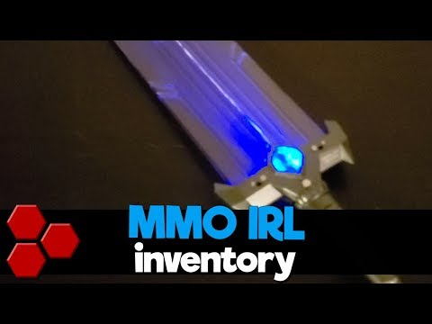 Inventory in Real Life - MMO IRL - TheHiveLeader