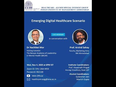 Emerging Digital Healthcare Scenario