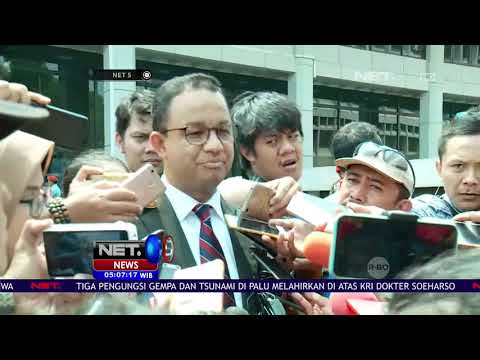 Gubernur DKI Jakarta Anies Baswedan Mengaku Mesponsori Ratna  NET 5