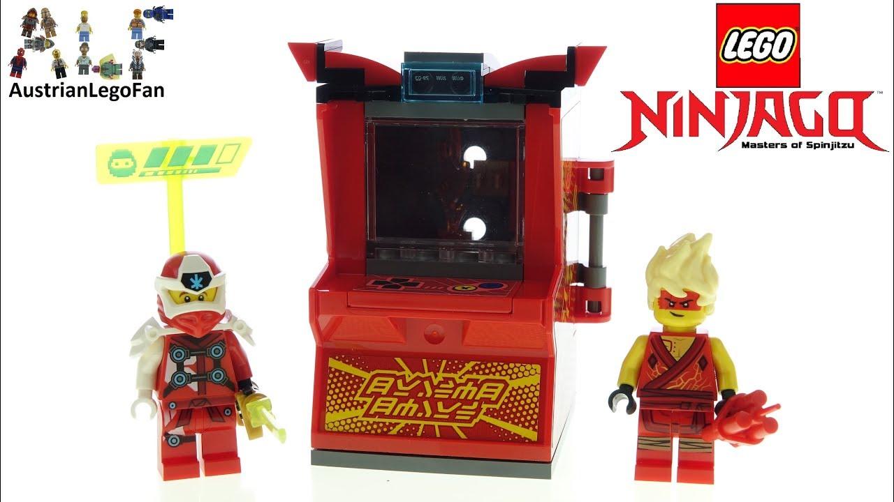 LEGO Ninjago 71714 Kai Avatar - Arcade Pod - Lego Speed Build Review