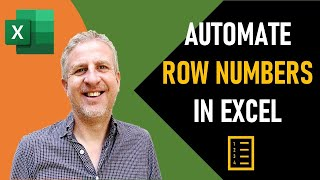 How to Automatically Add Numbers in Rows in Excel | Serial Auto-Numbering in Excel after Row Insert
