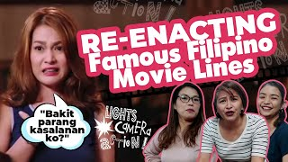 REENACTING FAMOUS LINES FROM FILIPINO MOVIES | Wonders Of Women | ZenHealth TV
