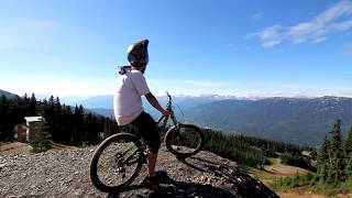 He' He' Hey!!......No Brakes!! | Whistler Bike Park Edit 2017