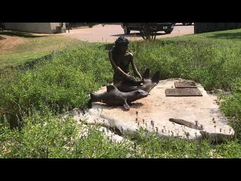 The mermaid here is a part of legend by native Americans