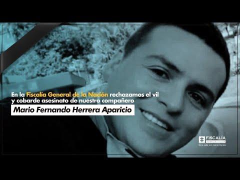 Fiscal Francisco Barbosa: En memoria de Mario Fernando Herrera Aparicio