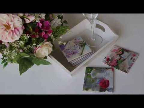 DIY Fotofliesen - Vielfältige einsetzbare Deko-Elemente