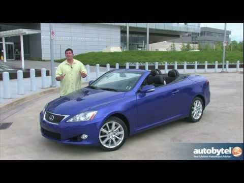 2012 Lexus IS 250C: Video Road Test and Review