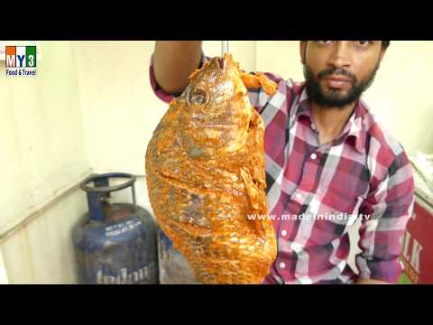 INDIAN STYLE TANDOORI FISH FRY | YAMMY SEAFOOD RECIPES MAKING