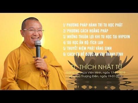 Vấn đáp: Phương pháp hành trì tu học Phật- Du học Ấn Độ Tích Lan - TT. Thích Nhật Từ