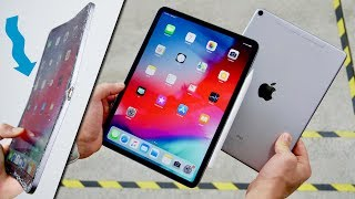 Apple iPad Pro 2018 DROP & BEND Test! Thin Is Bad..