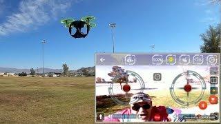 FQ777 FQ26 FPV Selfie Cube Drone Flight Test Review