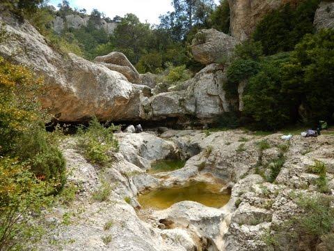 Ruta al Toll de l'ou desde Ulldemolins (Tarragona)