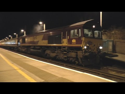 DB Cargo 66177 with 'The Heart Of Wales Wanderer' railtour 1…