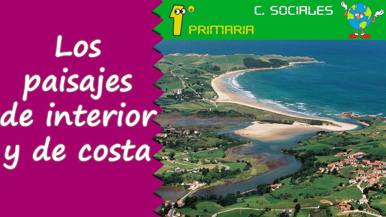 Ciencias Sociales. 1º Primaria. Tema 5: Paisajes de interior y de costa