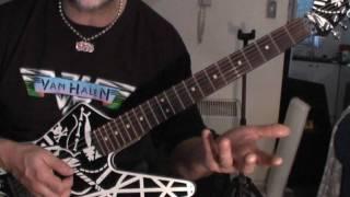 How to play Van Halen On Fire on guitar