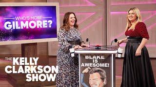 Gilmore Girls Trivia: Melissa McCarthy Vs. Kelly Clarkson