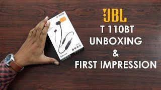 JBL Bluetooth Headset Tune 110BT Unboxing and Review | JBL Headset specifications | Hybiz TV