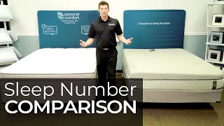Sleep Number Bed Review i8 vs Personal Comfort A8 Comparison