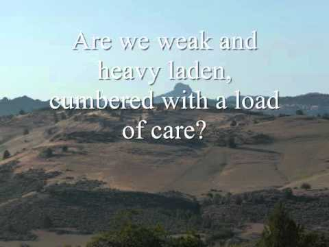 What A Friend We Have In Jesus - Youtube Lyric Video