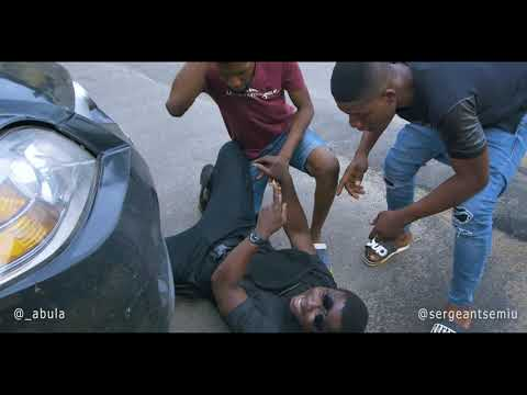 CAR HITS POLICE OFFICER (SERGEANT SEMIU) WHILE TRYING TO MAKE INSTAGRAM VIDEO
