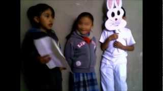 La leyenda del conejo en la luna por niños de primaria