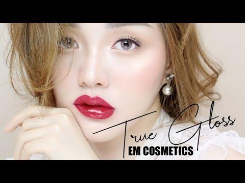 Swatch - Review bộ sưu tập son bóng của K&M Cosmetic