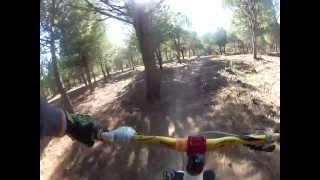 preview picture of video 'Circuito DH La Carolina'
