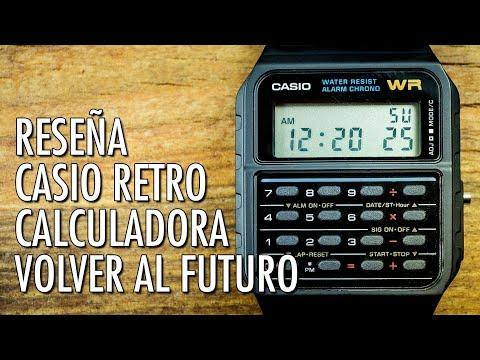 2f4cd7635115 Reseña Casio CA-53W Reloj Calculadora Retro Reloj Digital de Cuarzo en  Español
