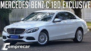 Ver o vídeo AVALIAÇÃO: MERCEDES-BENZ C 180 EXCLUSIVE